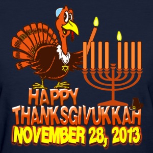 Happy Thanksgivukkah Hanukkah 2013 Womens Shirt - Women's T-Shirt