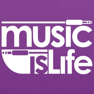 Music is Life Bags & backpacks - Tote Bag
