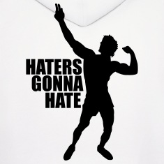 Men's Hoodie Zyzz Haters Gonna Hate