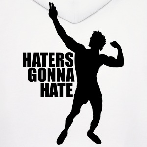 Men's Hoodie Zyzz Haters Gonna Hate - Men's Hoodie