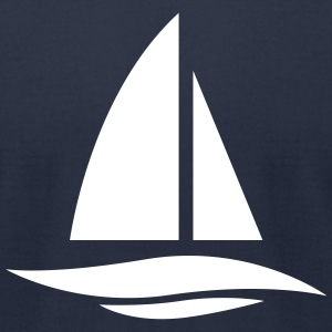 Boat Yacht - Men's T-Shirt by American Apparel