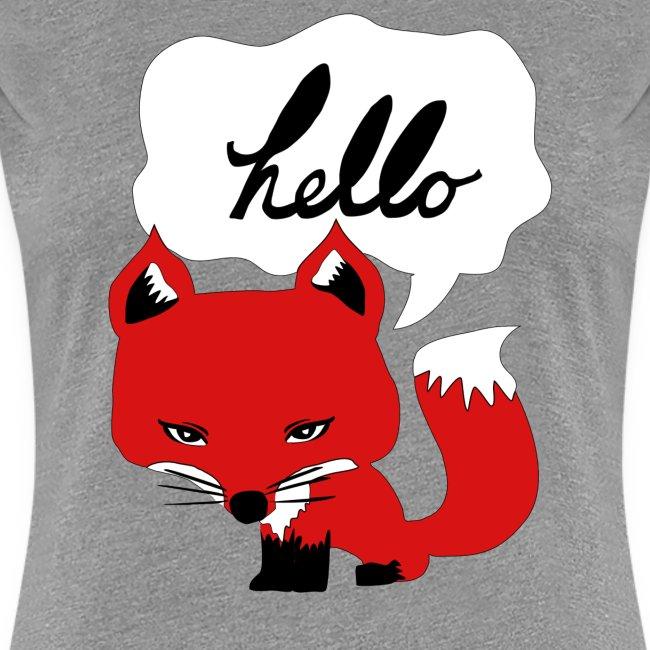 The Fox Says Hello Tee