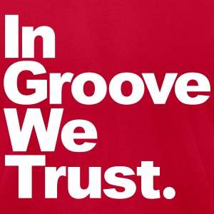 In groove wet trust T-Shirts - Men's T-Shirt by American Apparel