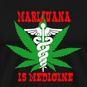 Marijuana is medicine T-Shirts - Men's Premium T-Shirt