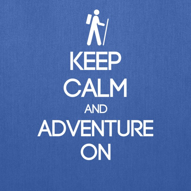 ENFP ~ Keep Calm and Adventure On Tote Bag