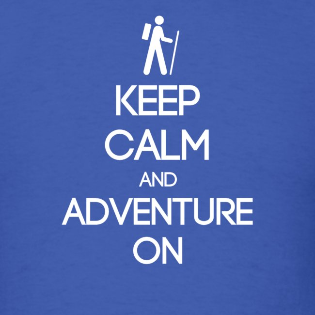 ENFP ~ Keep Calm and Adventure On T-shirt
