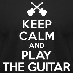 Keep calm and play the guitar T-Shirts