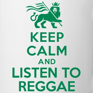 Keep calm and listen to Reggae Bottles & Mugs - Coffee/Tea Mug