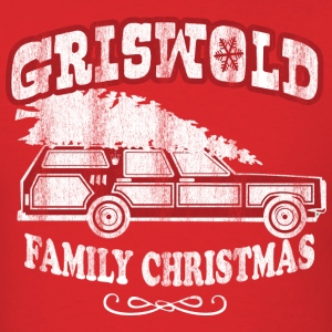 Griswold Family Christmas Shirt (Red) - Men's T-Shirt