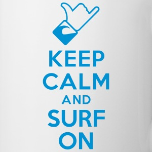 Keep calm and surf on Bottles & Mugs - Coffee/Tea Mug