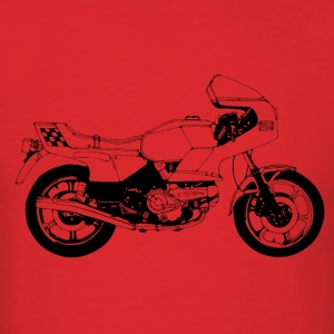 Vintage Motorcycle Shirt - Italian Stallion | Moto - Men's T-Shirt