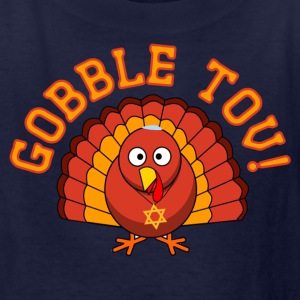 Gobble Tov Thanksgivukkah Turkey KidsT-shirt - Kids' T-Shirt