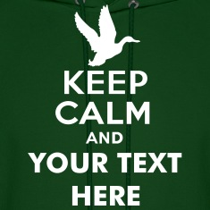 keep_calm_and_duck_hunt_text Hoodies