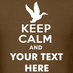 keep_calm_and_duck_hunt_text T-Shirts