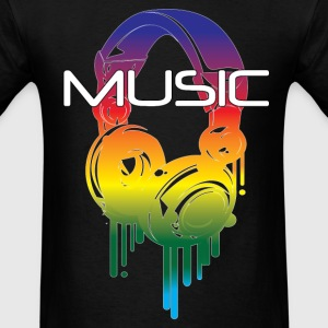 Melting Microphones.png T-Shirts - Men's T-Shirt