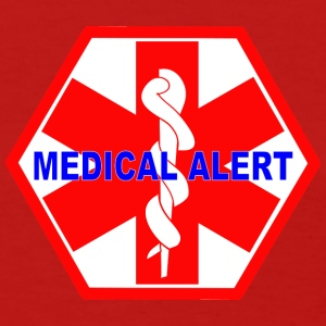 MEDICAL ALERT HEALTH IDENTIFICATION  SIGN Women's T-Shirts - Women's T-Shirt