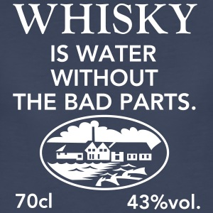 Whisky is water - Women's Premium T-Shirt
