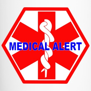 MEDICAL ALERT HEALTH IDENTIFICATION  SIGN Mugs & Drinkware - Travel Mug