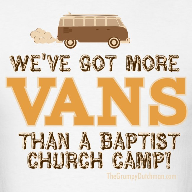 Van - Baptist Camp