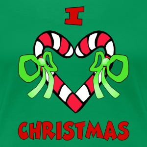 I Love Christmas Shirt - Women's Premium T-Shirt