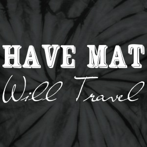 Have at, will travel T-Shirts - Unisex Tie Dye T-Shirt