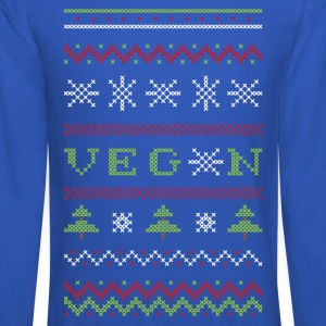 Veg*n Ugly Sweater Men's Sweatshirt - Crewneck Sweatshirt