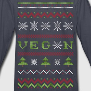 Veg*n Ugly Sweater Kids' Sweatshirt - Kids' Long Sleeve T-Shirt