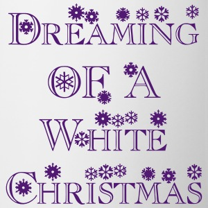 dreaming_of_a_white_christmas1 Bottles & Mugs - Coffee/Tea Mug