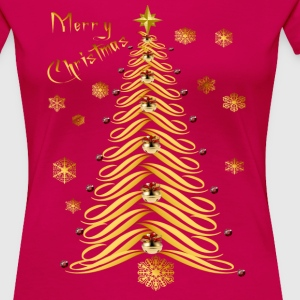 Seasons Greetings Soft Tree - Women's Premium T-Shirt