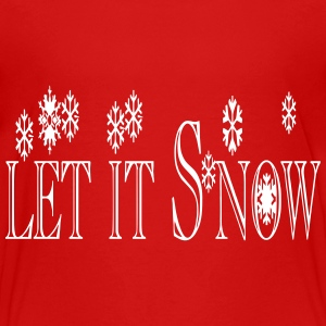 let_it_snow1 Kids' Shirts - Kids' Premium T-Shirt