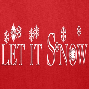 let_it_snow1 Bags & backpacks - Tote Bag