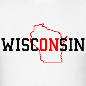 WiscONsin T-Shirts - Men's T-Shirt