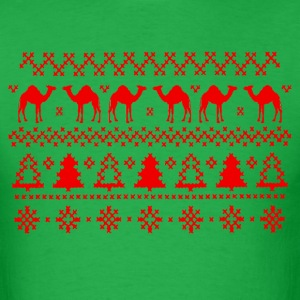 Hump Day Camel Ugly Christmas Sweater T-shirt - Men's T-Shirt