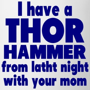 Thor Hammer Bottles & Mugs - Coffee/Tea Mug