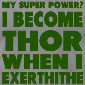 Super Power: Thor T-Shirts - Men's T-Shirt by American Apparel