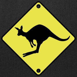 Kangaroo road sign Bags & backpacks - Tote Bag