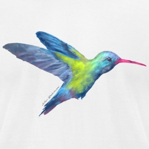 AD hummingbird T-Shirts - Men's T-Shirt by American Apparel