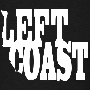 Left Coast T-Shirts - Men's T-Shirt