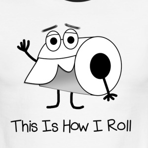 This is How I Roll Ringer T - Support Crohn's and  - Men's Ringer T-Shirt