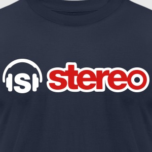 stereo hd T-Shirts - Men's T-Shirt by American Apparel