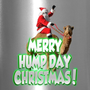 Merry Hump Day Christmas Stainless Travel Mug - Travel Mug
