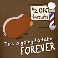 Design ~ 1/2 Off Haircuts Men's T-Shirt