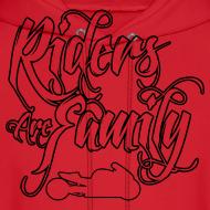 Design ~ S&S RIDERS ARE FAMILY BLACK