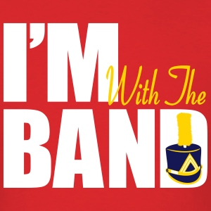 I'm With The Marching Band (Men's) - Men's T-Shirt