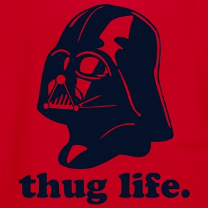Darth Vader Thug Life - Unisex Fleece Zip Hoodie by American Apparel