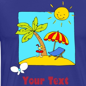 Holliday Scene T-Shirts - Men's Premium T-Shirt