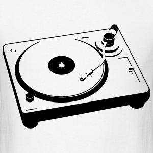 Turntable T-Shirts - Men's T-Shirt