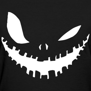 Scary Smile Women's T-Shirts - Women's T-Shirt