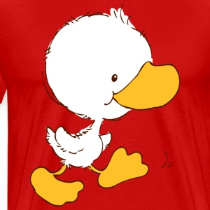 Walking Duckling T-Shirts - Men's Premium T-Shirt