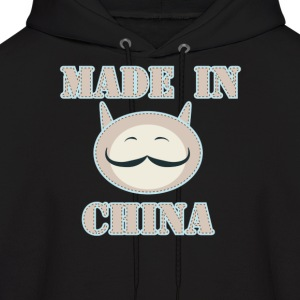 Made in China Cat - Men's Hoodie
